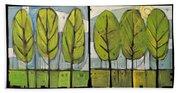 Four Seasons Tree Series Bath Towel
