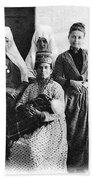 Four Women From Bethlehem Bath Towel