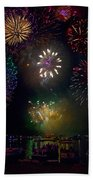 Fourth Of July Fireworks Bath Towel