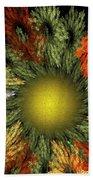 Fractal Floral 12-05-09 Hand Towel