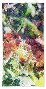 Fractal Flowers Bath Towel