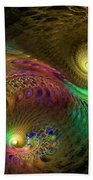 Fractal Swirls Bath Towel