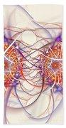 Fractal Synapse Bath Towel