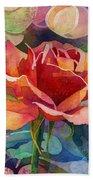 Fragrant Roses Bath Towel