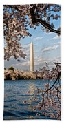 Framed With Blossoms Hand Towel