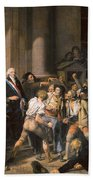 France: Bread Riot, 1793 Bath Towel