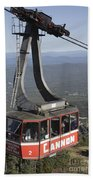 Franconia Notch State Park New Hampshire - Aerial Tramway Bath Towel