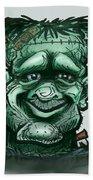 Frankenstein Bath Towel