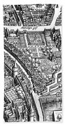 Frankfurt Am Main, 1628 Bath Towel