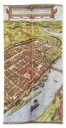 Frankfurt, Germany, 1572 Bath Towel