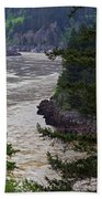 Fraser River British Columbia Hand Towel