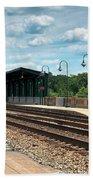 Fredericksburg Rail Station Bath Towel