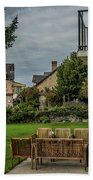 French Architecture Bath Towel