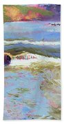 French Broad Rver Overflowing Bath Towel