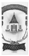French Garden House Bath Towel