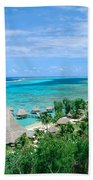 French Polynesia, Moorea Bath Towel