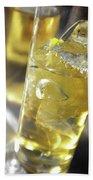 Fresh Drink With Lemon Bath Towel