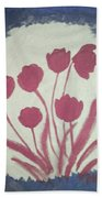 Fresh Flowers- 1st In Series-morning Shadow Bath Towel
