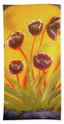 Fresh Flowers- 2nd In Series- The Dawn Bath Towel