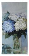 Fresh Summer Hydrangea 2 Bath Towel