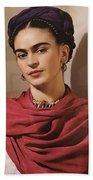 Frida Kahlo Live Bath Towel