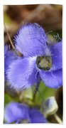 Fringed Gentian 1 Bath Towel