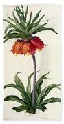 Fritillaria Imperialis Bath Towel