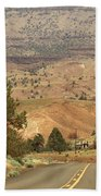 From Mitchell To Smith Rock  Bath Towel