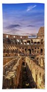 From The Floor Of The Colosseum Bath Towel