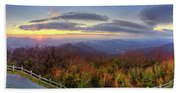From The Top Of Brasstown Bald Bath Towel