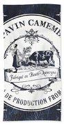 Fromage Label 1 Bath Towel by Debbie DeWitt