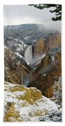 Frosted Canyon Bath Towel