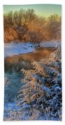 Frosty Morning Hand Towel