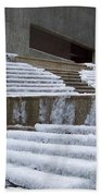 Frozen Fountain Bath Towel