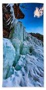 Frozen Kaaterskill Falls Bath Towel