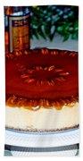Frozen Pumpkin Mousse Torte Bath Towel