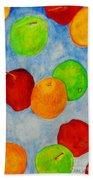 Fruit Drops Bath Towel