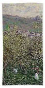 Fruit Pickers Bath Towel
