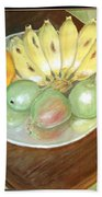 Fruit Plate Bath Towel