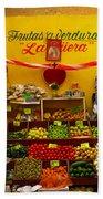 Frutas Y Verduras Bath Towel