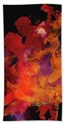 Fuego Hand Towel by M Montoya Alicea