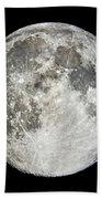 Full Moon Rising Bath Towel