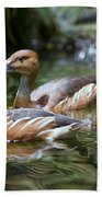 Fulvous Whistling Duck Bath Towel