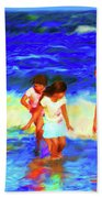 Fun At The Beach Bath Towel