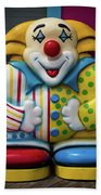 Fun House Clown Point Pleasant Nj Boardwalk Bath Towel