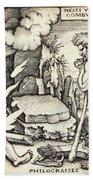 Funeral Of Hercules Bath Towel