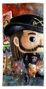 Funko Lemmy Kilminster Out To Lunch Bath Towel