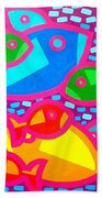 Funky Fish Bath Towel