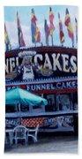 Funnel Cakes Bath Towel