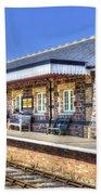 Furnace Sidings Railway Station 2 Bath Towel